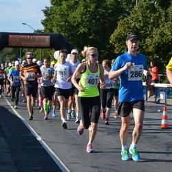 SEB Tallinna Maraton - Brit Rammul (401), Kristian Pilbas (791)