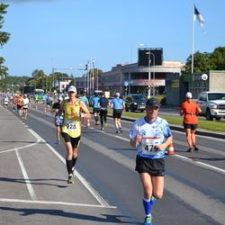 SEB Tallinna Maraton - Andris Leja (228), Maido Martsik (479)