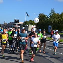 SEB Tallinna Maraton - Krister Kalda (568), Britt Jaaska (1009)