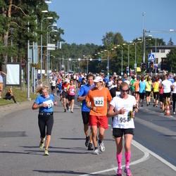 SEB Tallinna Maraton - Antti Hämäläinen (422), Annika Veimer (954)