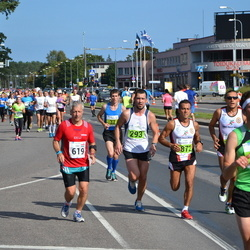 SEB Tallinna Maraton - Aare Kutsar (293), Zsolt Dragoman (619)