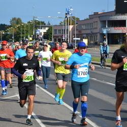 SEB Tallinna Maraton - Andre Pukk (601), Valev Altmets (1700)