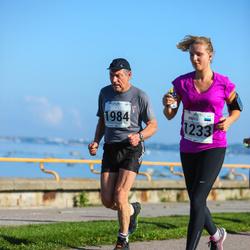 SEB Tallinna Maraton - Kristi Mäe (1233), Aarne Kell (1984)
