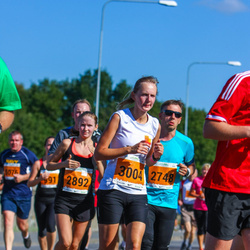 SEB Tallinna Maraton - Janar Kirn (2748), Hanna-Maris Vlastova (2892), Anni Rõuk (3004)