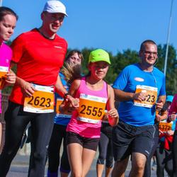 SEB Tallinna Maraton - Triinu Piliste (2555), Andi Piliste (2623)