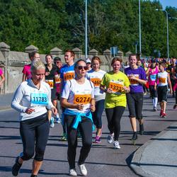 SEB Tallinna Maraton - Elve Rapp (1333), Anna Mailanchi (5327), Kadri Lepik (6274), Erle Meresmaa (11783)