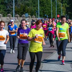 SEB Tallinna Maraton - Elve Rapp (1333), Julia Grišina (4467), Anna Mailanchi (5327)