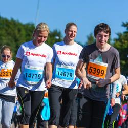 SEB Tallinna Maraton - Rasmus Maide (5399), Anita Aasmäe (14679), Maris Murakas (14719)