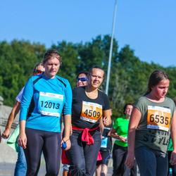 SEB Tallinna Maraton - Anna-Liisa Veskioja-Kurm (4509), Anna Hallingu (6535), Katrin Sepp (12013)