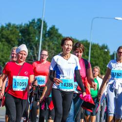SEB Tallinna Maraton - Irina Todorova (11059), Agnes Kõiv (14386)