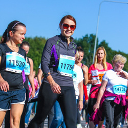 SEB Tallinna Maraton - Natalia Jefimova (11539), Anna Badulina (11759)