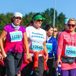 SEB Tallinna Maraton - Imbi Tito (11781), Anneli Rihvk-Hiie (12640), Ly Zeiger (12906)