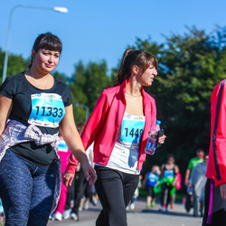 SEB Tallinna Maraton - Anna Bakunovitš (11333), Lidia Kulešova (14495)