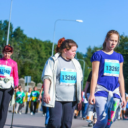 SEB Tallinna Maraton - Anna-Maria Kauge (13265), Karmen Kauge (13266)