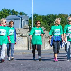 SEB Tallinna Maraton - Julia Kruusimaa (10968), Marina Suhhorutšenkova (10970), Ljubov Družinina (10975), Ilona Ossipova (10976), Anait Vashchenko (15260)