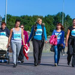 SEB Tallinna Maraton - Ewa Aasma (10666), Inga Duškins (10875), Anastassia Islentjeva (12740)