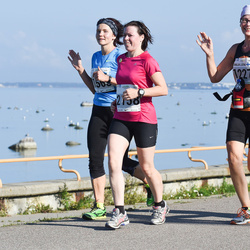SEB Tallinna Maraton - Maija-Leena Sipilä (1227), Agnese Bahmane (2158)