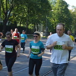 SEB Tallinna Maraton - Annika Enqvist (1026), Suvi Vainionpää (1027), Jaak Vaiknemets (2855)