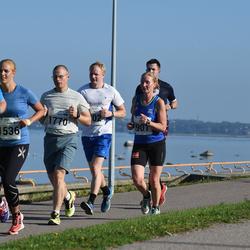 SEB Tallinna Maraton - Jeanie Mcaleer Elkjær (901), Anni Laakso (1536), Valev Altmets (1700), Argo Paavel (1770)