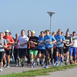 SEB Tallinna Maraton - Aet Udusaar (658), Priit Hiob (842), Teedu Pedaru (2214)
