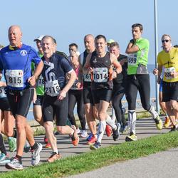 SEB Tallinna Maraton - Ago Veilberg (101), Guy Houthuys (815)