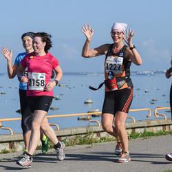 SEB Tallinna Maraton - Satu Manier (1225), Maija-Leena Sipilä (1227), Agnese Bahmane (2158)