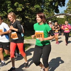 SEB Tallinna Maraton - Gerly Nõmm (687), Anni Metstak (2881)
