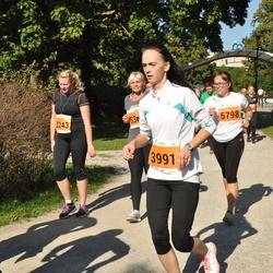 SEB Tallinna Maraton - Irma Bondare (2243), Deivy Tamm (3991), Anneliis Peitel (5798)