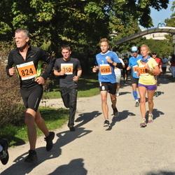 SEB Tallinna Maraton - Agne Kivisaar (748), Tõnu Künnapas (824), Sander Mölder (4582)