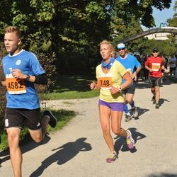 SEB Tallinna Maraton - Agne Kivisaar (748), Sander Mölder (4582)