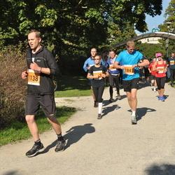 SEB Tallinna Maraton - Jarek Ojap (1138), Andi Lember (1841)