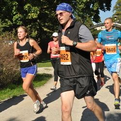 SEB Tallinna Maraton - Sirli Aia (2395), Aron Jäger (3462), Jaan Sõsun (3605)