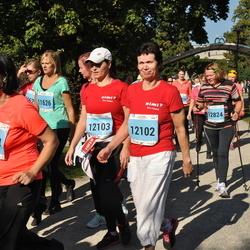 SEB Tallinna Maraton - Sigrid Kaubi (12102), Silja Siska (12103), Elle Tanner (12824)