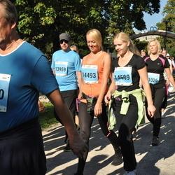 SEB Tallinna Maraton - Vjatsheslav Nakarjakov (14140), Annely Vällik (14493), Liina Lill (14509)