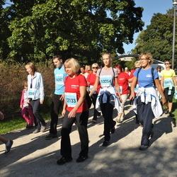 SEB Tallinna Maraton - Inga Treimuth (12133), Berith Padar (13254), Jelena Piksajeva (14200), Viktor Piksajev (14207)
