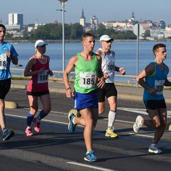 SEB Tallinna Maraton - Annika Vaher (108), Gatis Štulbergs (185), Andreas Ainjärv (2018)