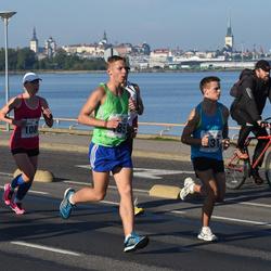 SEB Tallinna Maraton - Annika Vaher (108), Yuriy Vinogradov (231), Andreas Ainjärv (2018)