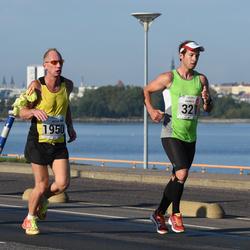 SEB Tallinna Maraton - Patrick Wicki (321), Artur Rauhiainen (1950)