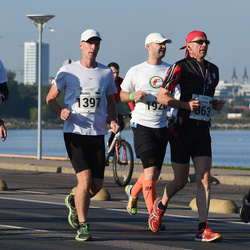 SEB Tallinna Maraton - Bernd Völker (863), Kaarel Kaisel (1397), Kari Ylinen (2087), Kristi Kirs (2197)