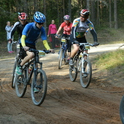 SEB 17. Tartu Rattamaraton - Berit Kroon (5757), Harri Vihalemm (5902), Kenert Jaani (6456)