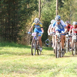 SEB 17. Tartu Rattamaraton - Tarmo Kopli (101), Aarne Tiit (253), Riho Ever (511), Inge Kool (10002)