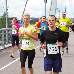 PAF Tartu Olümpiajooks - Nele Laev (224), Marko Aalik (239), Arsi Tupits (751)