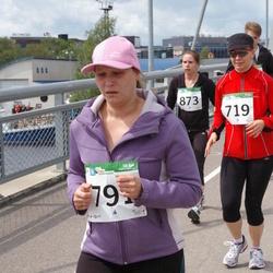 PAF Tartu Olümpiajooks - Anna Ojap (719), Heleri Tooming (791)