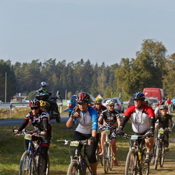 SEB 17. Tartu Rattamaraton - Ago Reintop (2532), Tiina Tops (6216), Tiina Kirs (6962), Kätlin Ülesoo (7100)