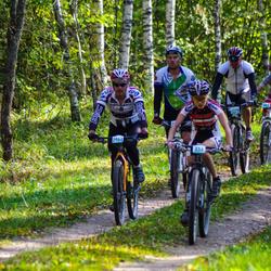 SEB 17. Tartu Rattamaraton - Gerlin Tammoja (834), Arnis Kalnins (2964)