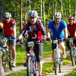 SEB 17. Tartu Rattamaraton - Aare Kaar (5504), Ulrike Laanes (5557), Ivar Kask (5754)