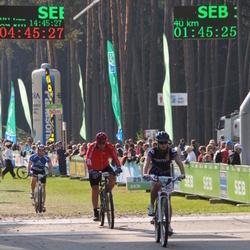 SEB 17. Tartu Rattamaraton - Anni Niidumaa (2531), Kalev Mängel (5309)
