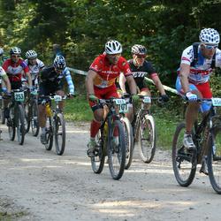 SEB 17. Tartu Rattamaraton - Marek Pani (216), Aarne Tiit (253), Renars Fedosjonoks (323), Vaido Padumäe (356)