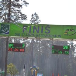 SEB 17. Tartu Rattamaraton - Kunnar Koik (5800), Marcis Žukovs (6542), Aleksei Kuttanen (7043)