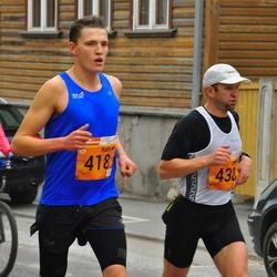 3. Tartu Linnamaraton/Sügisjooks - Rain Seepõld (418), Alar Savastver (438)